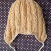 ヴォーグ社の「棒針編み〈入門コース〉通信講座」 第2回:「ノット模様の耳あてつき帽子」