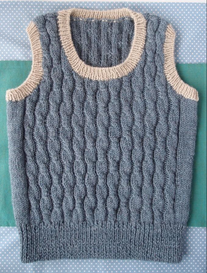 ヴォーグ 棒針編み ベスト