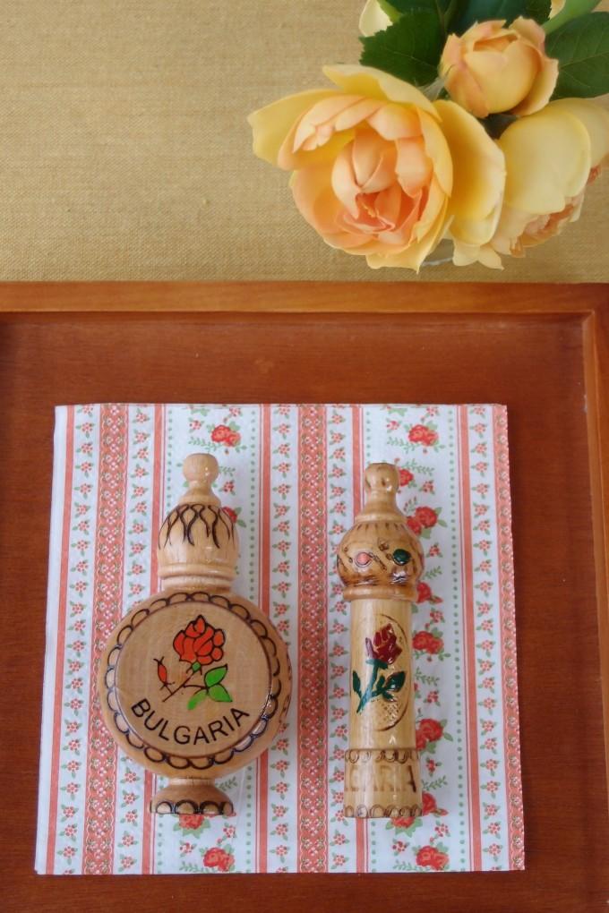 ブルガリアのバラのオイル
