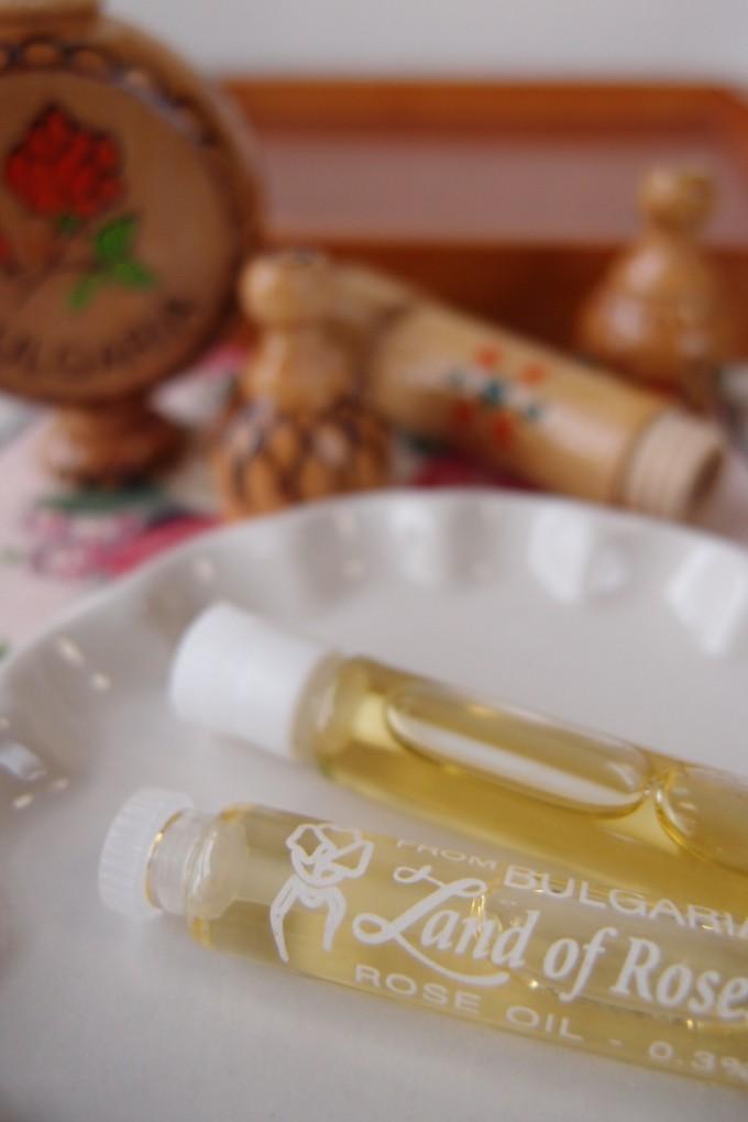 ブルガリアローズのオイル