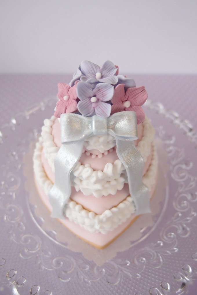 アイシング ケーキ