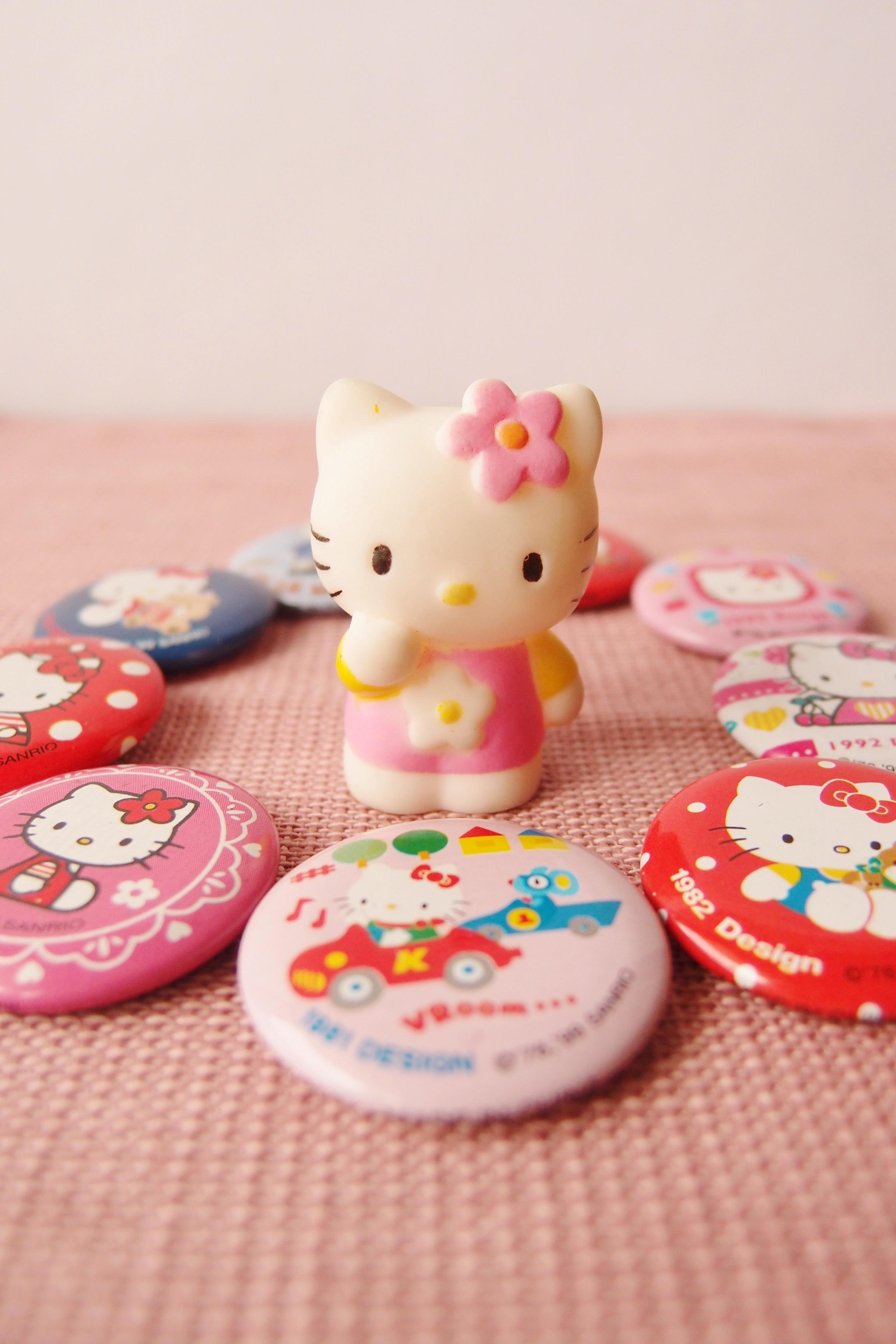 サンリオショップでもらえるハローキティ (Hello Kitty) のおまけ
