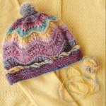 Avrilの毛糸とキットで編んだ帽子の奇跡的な出会い