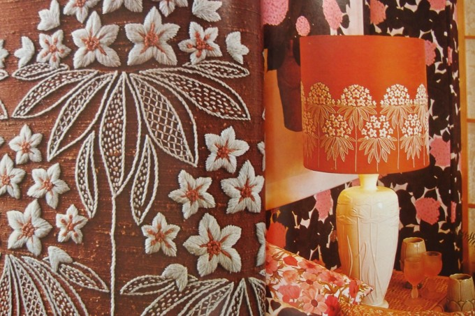 ラカム 刺繍
