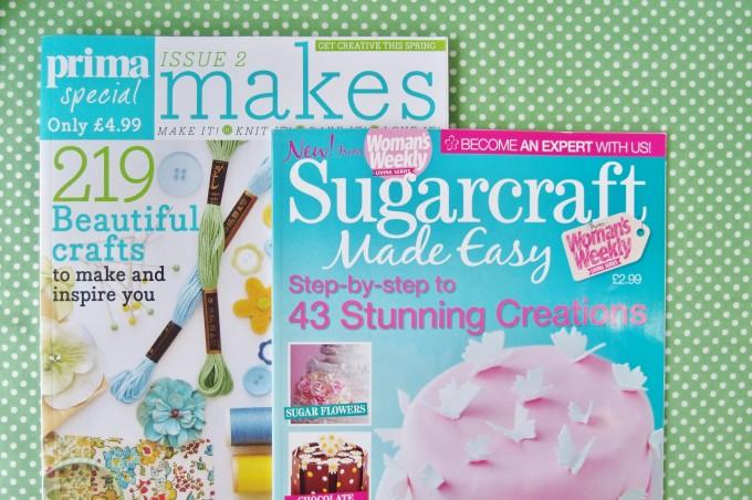 イギリスの手芸とお菓子の雑誌
