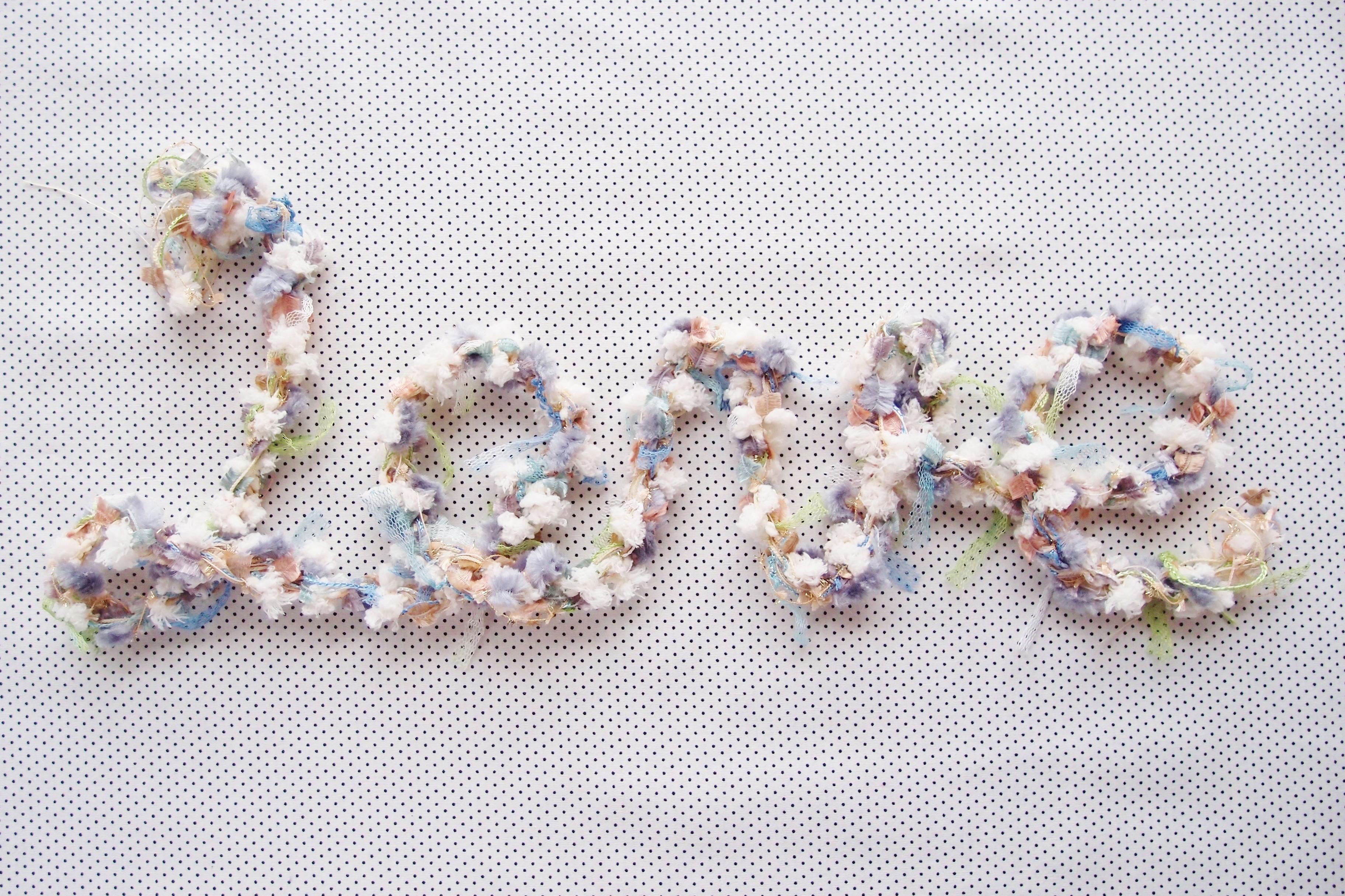 アヴリルのキット:「ゆび編みネックレス」