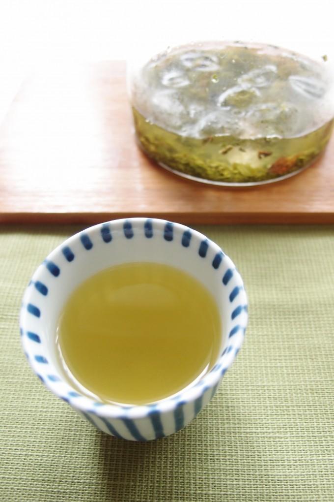 氷だし緑茶ミントティー