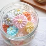 シュガーフラワー(お花絞り・アイシングフラワー)の作り方  3. お花の絞り方