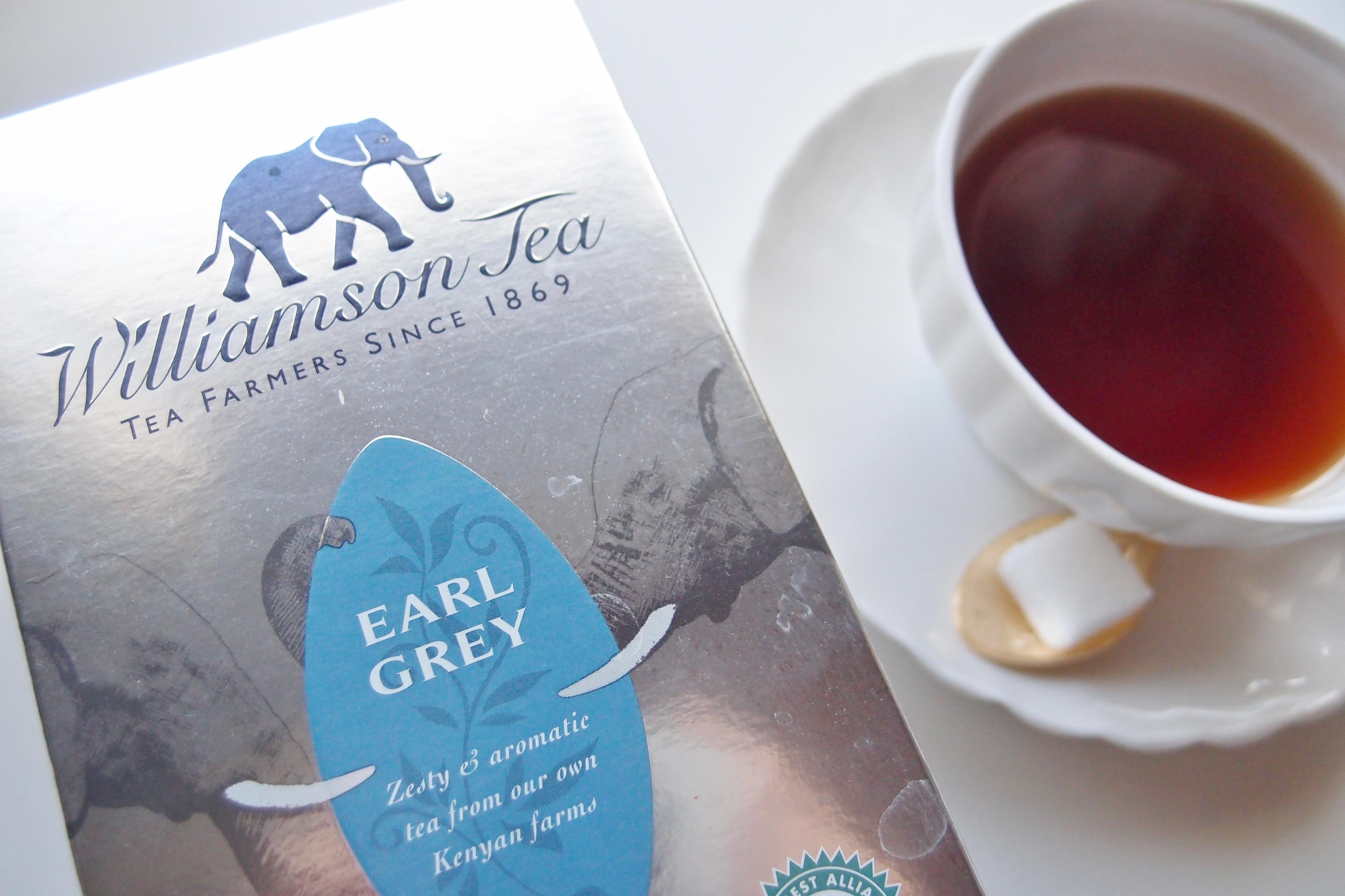 イギリスに行ったら、是非 Williamson Tea を飲んでみてください!