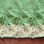 毛糸と輪針のコードを購入&イメージと違った、編みかけのGinkgoショールをどうするか悩み中です