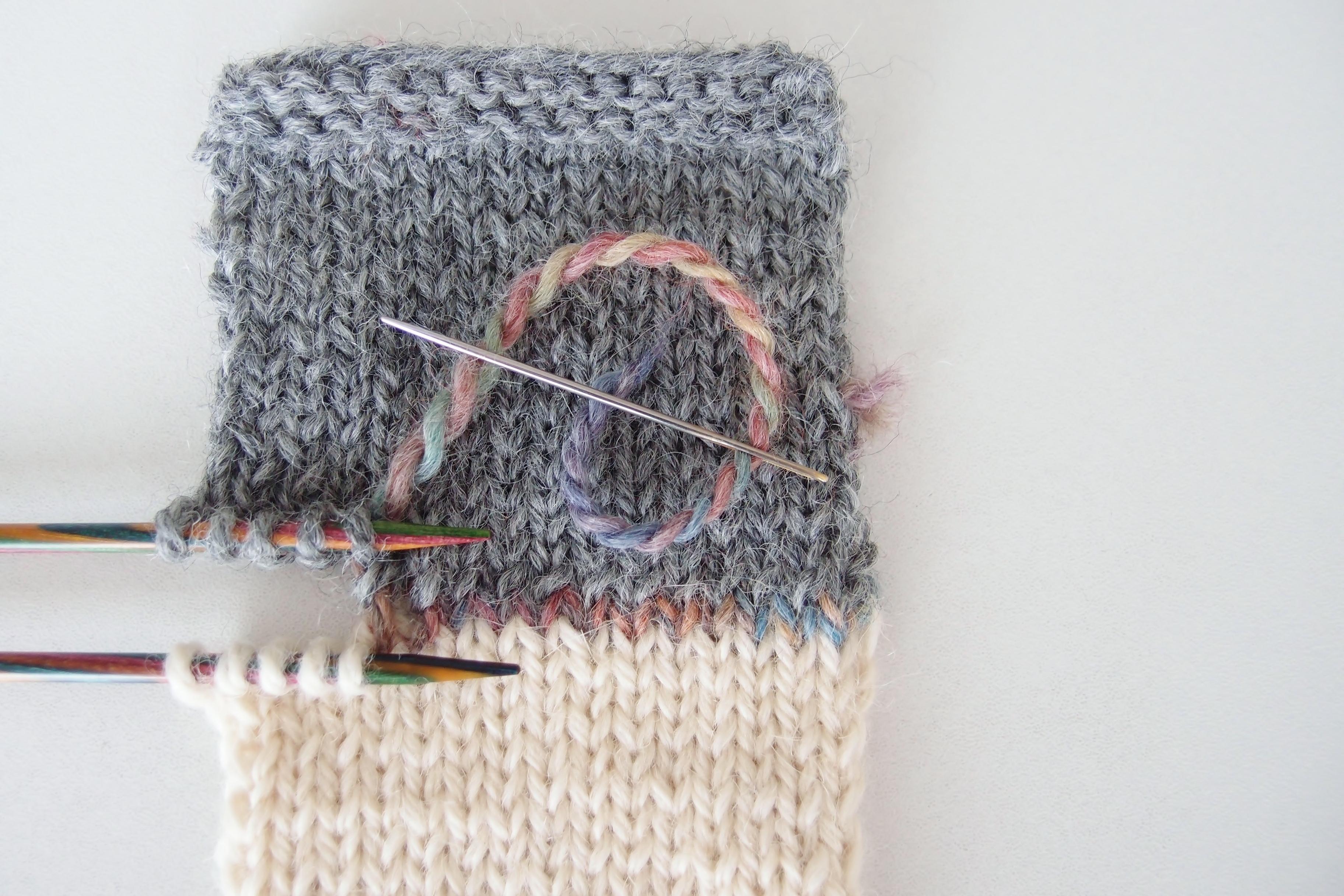 Kitchener Stitch (メリヤスはぎ) を正しく行うための私なりの方法