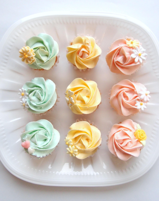 一番おいしいカップケーキの作り方!しかも簡単です!!(カップケーキの作り方・その1)
