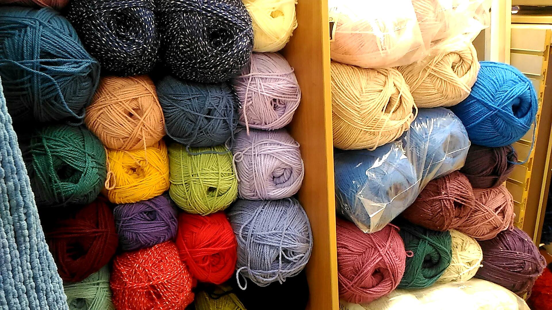 毛糸を求めてーロンドンの手芸屋さん巡り(bunty wool shop 編)