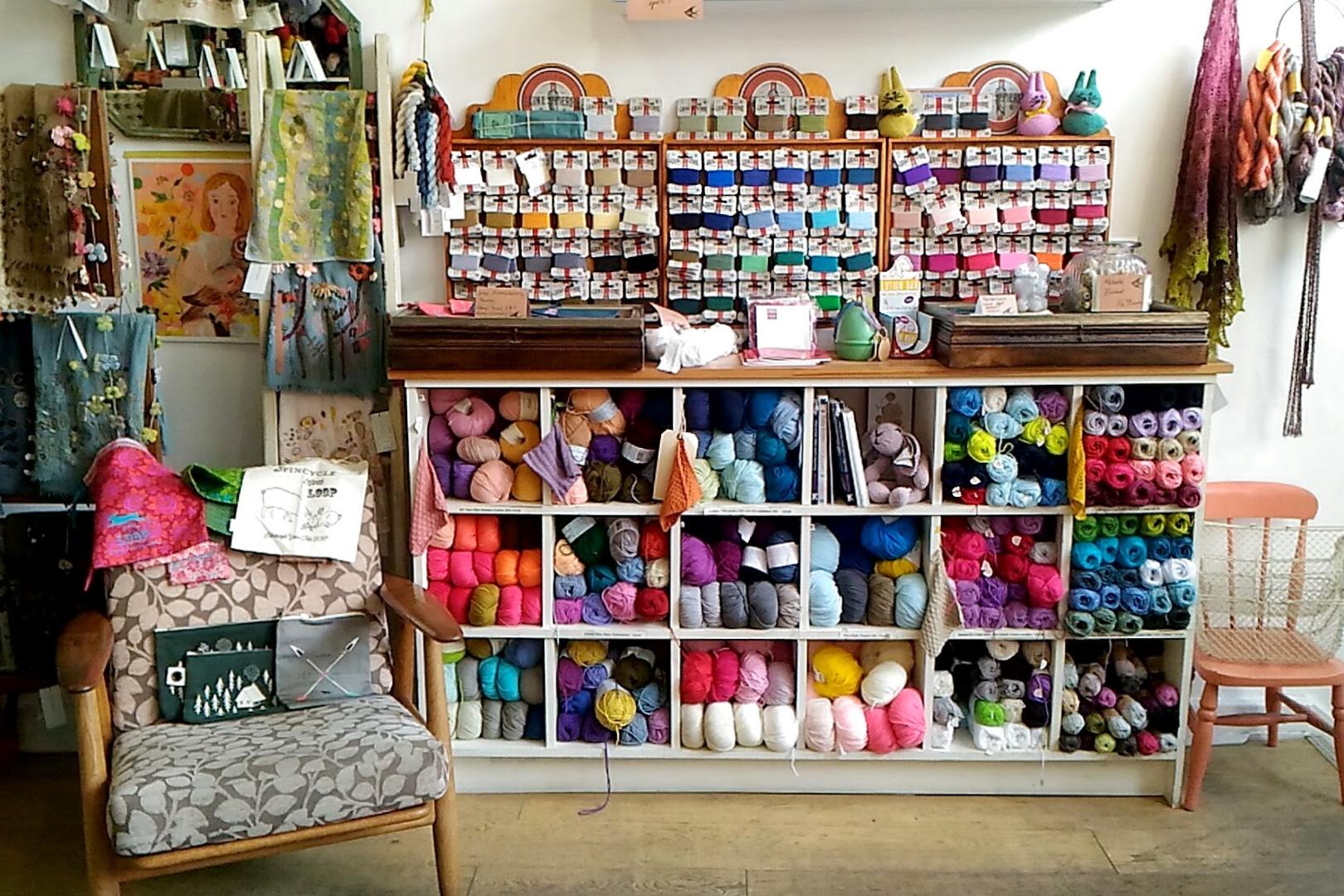 毛糸を求めてーロンドンの手芸屋さん巡り(Loop 編)