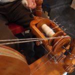 Wool Festival in Leedsー糸つむぎを見学したり、Marlisle と言う技法を学ぶ編み物のワークショップに参加しました。