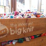 Big Knit で編んだ帽子を届けに、イノセント本社にお邪魔しました。建物内部の様子をレポートします!