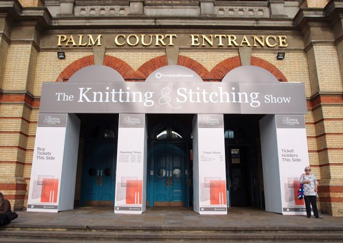 ???????????? Knitting & Stitching Show 2017 ?????????   My Cup of Tea