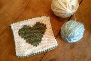 ロンドンの毛糸屋さん Wild and Woolly で、ダブルニッティング(DK)のワークショップを受講しました