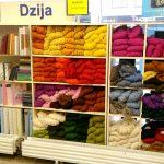 【ラトビア】ラトビアの本屋さんには、なぜか毛糸が売っていました