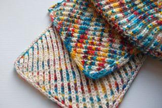 Brioche Knitting(ブリオッシュ編み・イギリスゴム編み)のワークショップ@ I Knit London