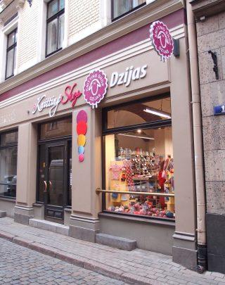 【ラトビア】Knitting Shop DZIJAS ーリガの旧市街で偶然見つけた毛糸屋さん