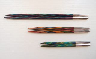 ニットプロ(Knitpro) の40㎝用・短針付け替え用輪針は、通常サイズの代わりになるのか?使い心地や気づいたことなど