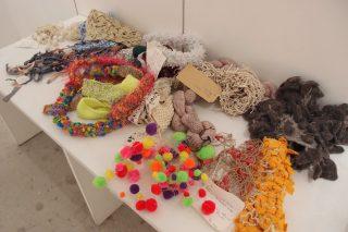 クリエイティブ・ニッティングーアーティスティックな編み物のワークショップに参加しました