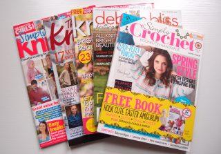 イギリスの編み物の雑誌を6冊ご紹介します