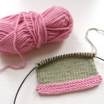 棒針編みで糸が足りなくなったときや、色を変える時の方法と糸始末のおすすめのやり方 (糸の付け方考察 part 1)