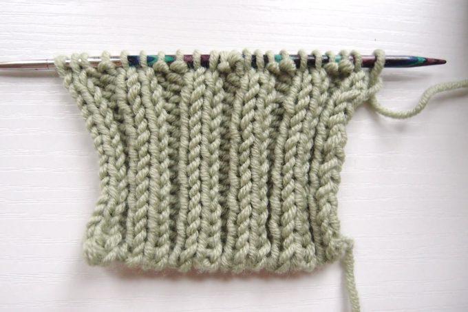 目 目 編み 二 ゴム 作り