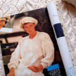 【母の編み物・その1】-ウン十年前の「毛糸だま」に載っていたセーター