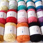 毛糸ピエロさんでコットンの糸を購入しました!おまけでついてくる編み図が載った冊子がすごかった!