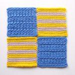 【フェリシモ】『アフガン編みのサンプラーの会』2回目。だんだんとアフガン編みのコツがわかってきました