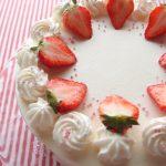 久々のショートケーキ。共立てのジェノワーズ(スポンジケーキ)が十分に膨らまない理由とは?