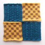 【フェリシモ】『アフガン編みのサンプラーの会』5回目ープレーン編みの難しさを再確認