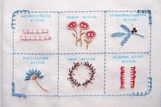 【フェリシモ】刺繍キット「はじめてさんのきほんのき」5回目ードイリーの縁の仕上げ方って・・・?