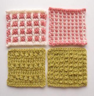 【フェリシモ】アフガン編み「はじめてさんのきほんのき」の会 3回目。前回に引き続き、模様編みを学びます!