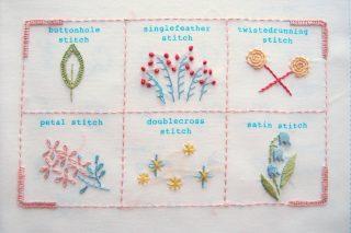 【フェリシモ】刺繍キット「はじめてさんのきほんのき」6回目ーついに最終回です!