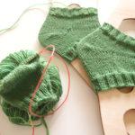 ドイツ式引き返し編み(ジャーマンショートロウ/GSR)の編み方と特徴を解説します!