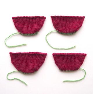 つま先から編む靴下( Toe-up socks ) でよく使われる作り目3種類を比較してみました