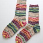 Opal 毛糸3玉追加ーそろそろ自分の中でスタンダードな靴下の編み方が定まってきたかも・・・?