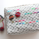編み物用のプロジェクトバッグをゲット!少しだけ手を加えてみました