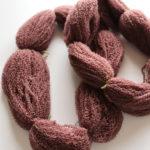 【リサイクル毛糸⑥】模様編みのセーターほどく