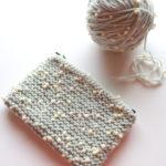小学生の時に、初めて自分で選んで購入した毛糸が発掘されました(笑)