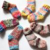 【動画あり】ミニ靴下の編み方(ドイツ式引き返し編みのかかと・棒針編み)