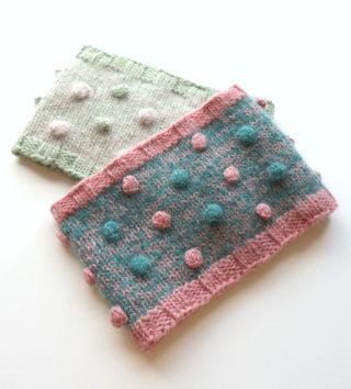 【動画あり】玉編みネックウォーマーの編み方(子供用。大人も一応使えます)